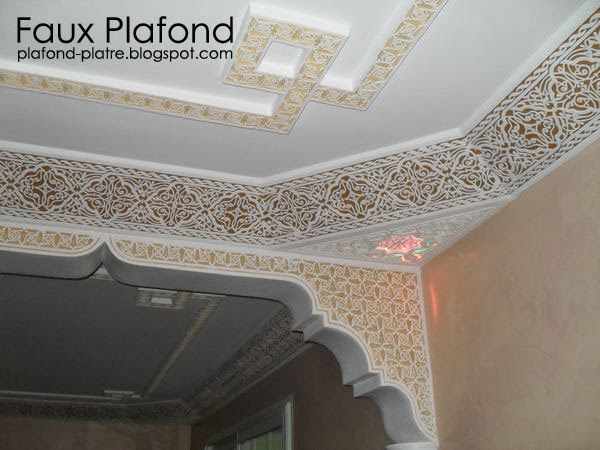 D coration corniche plafond designplafond for Decoration du platre