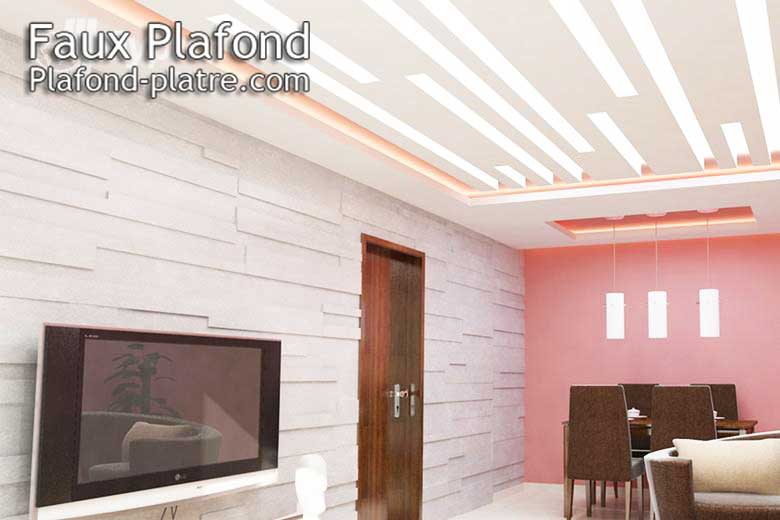 Decoration plafond designplafond for Plafond moderne design