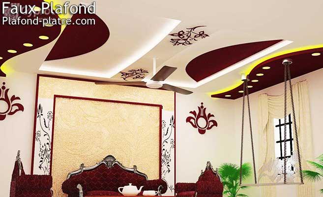 Plafond Salon « Designplafond